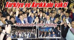 Mahallede Mini Miting